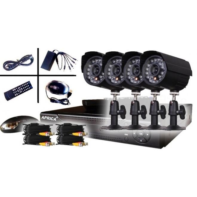 Die besten 7 Videoüberwachungskits 4 Kameras